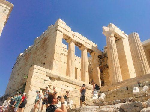 【ギリシャ】アテネ空港からパルテノン神殿への行き方*方法と注意点*バス+徒歩で簡単に行けました♪