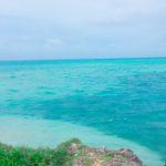 【宮古島・池間島】神聖な大神島を眺める・世渡橋(せど)から見る池間ブルー・八重干瀬でシュノーケル