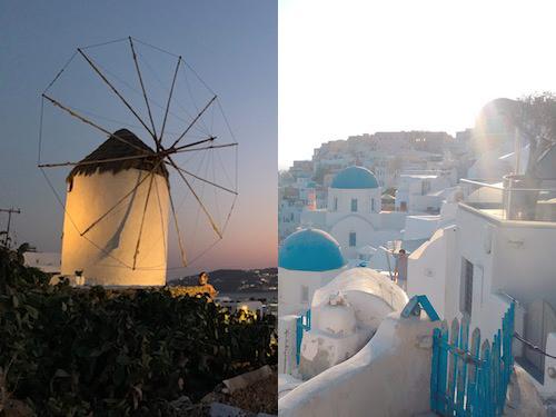 【ギリシャ旅】サントリーニ島とミコノス島はどちらに行くべき?徹底比較!!