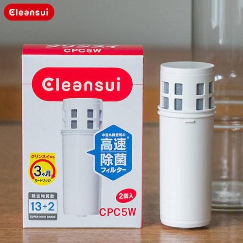 浄水ポット Cleansui(クリンスイ)  カートリッジの使い方・交換方法・簡単6step
